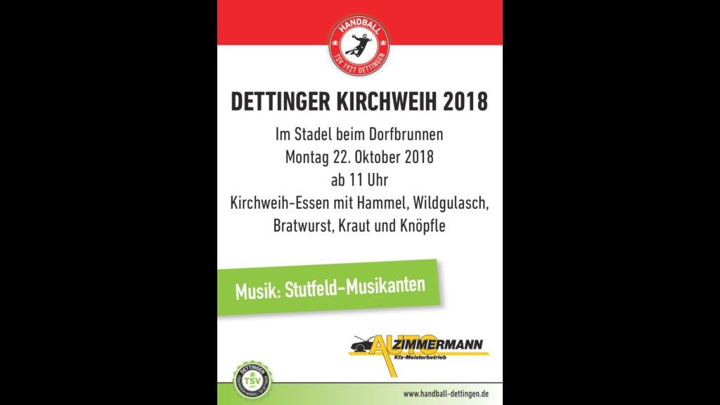 Kirchweih 2018 – Helfer gesucht