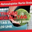Handballtag mit Nationalspieler Martin Strobel